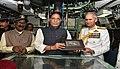 Defence Minister Rajnath Singh commissions INS Khanderi at Mumbai (2).jpg