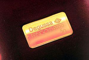 Evonik Industries - Degussa gold, 5 g