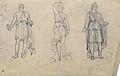 Dehodencq A. - Pencil - Etude de statues antiques - 14x10cm.jpg