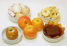 Delicious foods made with apples 01.JPG
