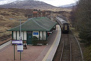 James Miller (architect) - Image: Departing Rannoch Station geograph.org.uk 730642