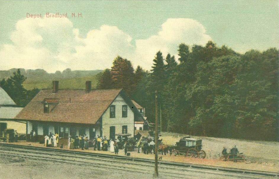 Depot, Bradford, NH