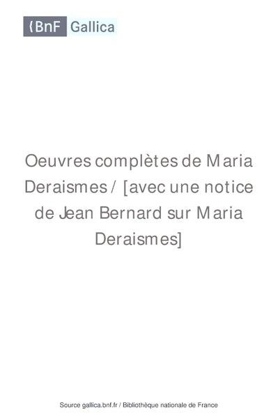File:Deraismes - Oeuvres completes France et Progres 1895.pdf