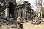 Ancient complex of Preah Khan Kompong Svay