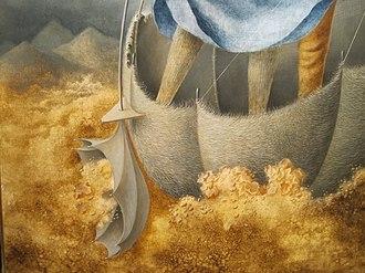 Remedios Varo - La huida, detail, 1961