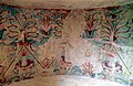 Detail of the decoration of the ceiling of the antechamber, The Tomb of the Palmettes, first half of the 3rd century BC, Ancient Mieza (7263660882).jpg