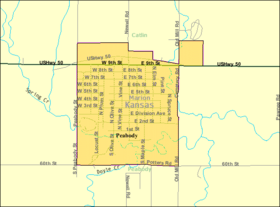 Detailed map of Peabody, Kansas.png