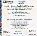 NRW-Ticket (Sch ner-Tag-Ticket)