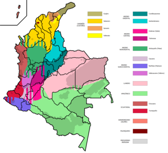 Llanero Spanish - Spanish dialects of Colombia.