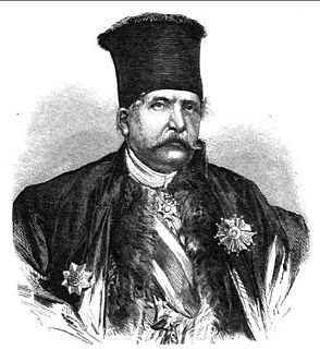 Dimitrios Voulgaris prime minister of Greece with Arvanite origin