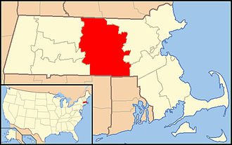 Roman Catholic Diocese of Worcester - Image: Diocese of Worcester map 1