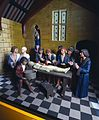 Diorama showing a dissection at Montpellier in the 1300s, En Wellcome L0058035.jpg