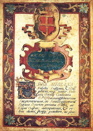 Diploma of 1672