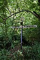 Direction fingerpost at Elham Kent England.jpg