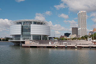 Discovery World science and technology museum in Milwaukee, Wisconsin, USA