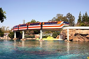 Rail transport in Walt Disney Parks and Resorts - Image: Dlp nemo lagoon