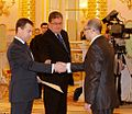 Dmitry Medvedev with Ilija Isajlovski.jpg