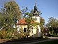 Dobroviz PZ CZ Virgin Mary chapel WSW 101.jpg