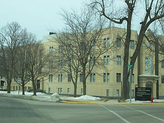 Dodge County, Wisconsin - Image: Dodge County Wisconsin Administration Building