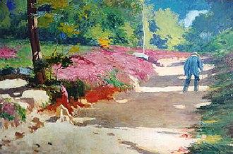 William de Leftwich Dodge - Image: Dodge Sunlit Path