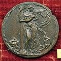 Domenico poggini, medaglia di bindo altoviti, verso con la fortezza.jpg
