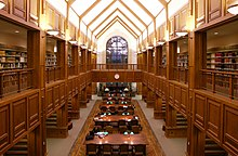 The Donald E. Pray Law Library at the University of Oklahoma College of Law.
