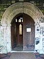 Doorway, St Mary and St Bartholomew Church, Cranborne - geograph.org.uk - 695445.jpg