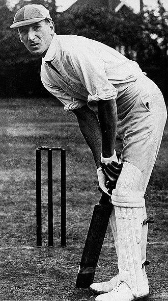 Douglas Jardine - Jardine in 1930