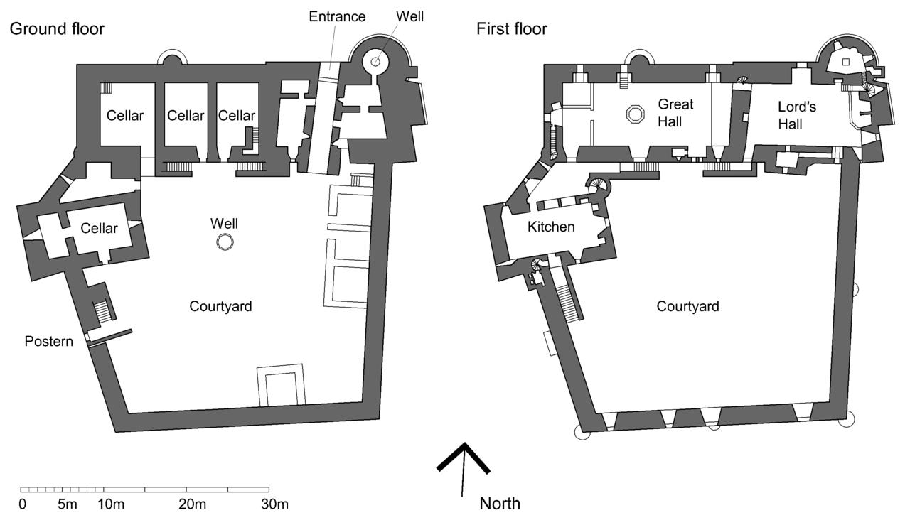 File doune castle wikimedia commons for Castle building plans