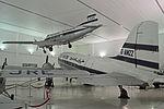 Dove and Dakota. Al Mahatta Aviation Museum, Sharjah (22013966252).jpg