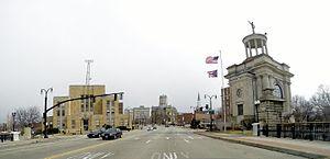 Hamilton, Ohio - Main Street in Hamilton