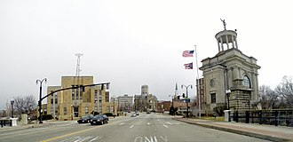 Hamilton, Ohio - Main Street in Hamilton