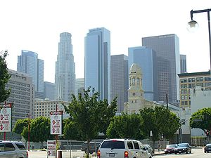 Downtown Los Angeles from Little Tokyo
