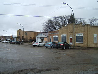 Wawanesa, Manitoba Unincorporated urban community in Manitoba, Canada