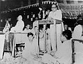 Dr. Ambedkar in public meeting organized by All India Buddhist People's Council, New Delhi.jpg