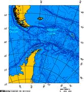 Drake Passage - Lambert Azimuthal projection