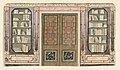 Drawing, Design for Doorway and Bookcase, probably for King's Library, Royal Pavilion, Brighton, 1802 (CH 18610003-2).jpg