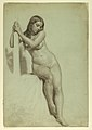 Drawing, Female Nude Perched on a Stool, 1858 (CH 18567325).jpg