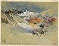 Drawing, Yellowstone, Hot Springs, July 21, 1892 (CH 18189887).jpg