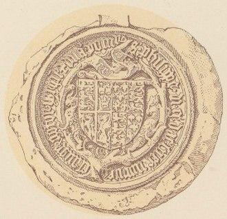 Philippa of England - Image: Dronning Filippa PI XIX 5