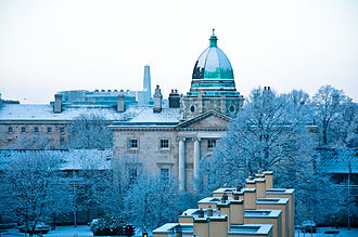 Law Society of Ireland - Law Society building after a snowstorm. November 2010