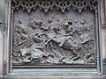 Duke of Buccleuch Statue Pedestal detail 05.JPG
