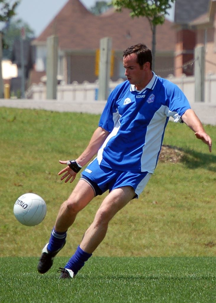 Durham Gaelic football club player shoots