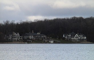 East Grand Rapids, Michigan - East Grand Rapids is known for its affluence and lakefront mansions.