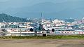 EVA Air Airbus A330-302X B-16333 Final Approach to Taipei Songshan Airport 20150102b.jpg