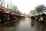 Each Saturday in Ljubljana, Slovenia, produce and retail vendors host a market in the center of the town.jpg