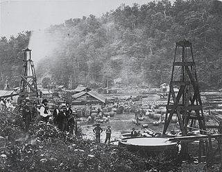 Pennsylvania oil rush