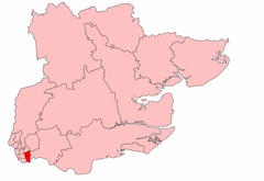 East Ham South within Essex from 1918 to 1950.