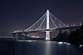 Eastern Span of the San Francisco-Oakland Bay Bridge at night, seen from Yerba Buena Island.jpg