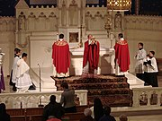 Communion from the Reserved Sacrament on Good Friday (Our Lady of Lourdes, Philadelphia).